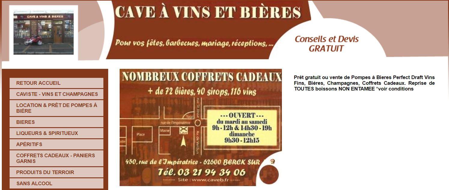 Cave à vins et bierres