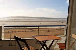 Duplex 2 chambres face mer - Fort-Mahon Plage